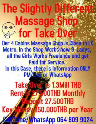 Massage in soi Buakhao near LK Metro