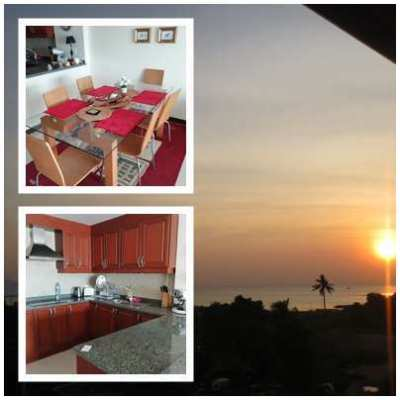 Baragin!! **100 qm-SEAVIEW near Ocean Marina Port Na jomtien ,quiet