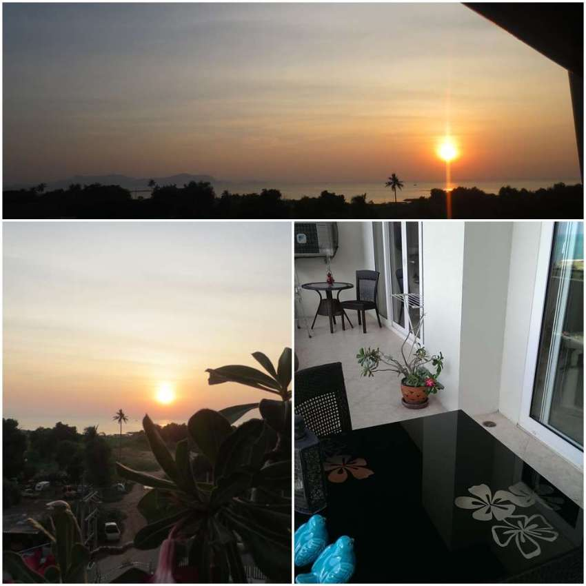 Baragin!! **100 qm-SEAVIEW near Ocean Marina Port Na jomtien ,quiet