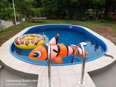 European Qualty Steelwall Liner Swimming Pools