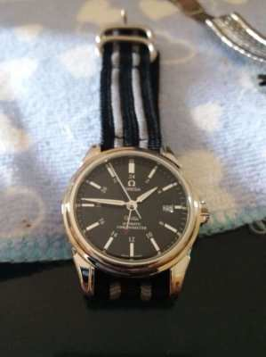 Omega De Ville GMT Co- Axial