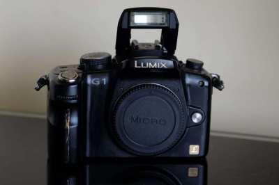 Panasonic G1 Digital Camera Black Body