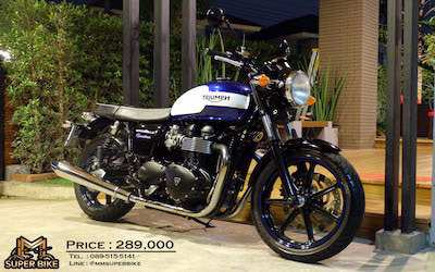 Triumph Bonneville Newchurch 2016 very rare at a very special price!