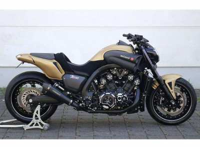 The engine-block of a - Yamaha Vmax 1998 1200cc, 145hp, double air....