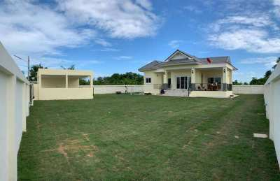 Hot! Furnished 3 BR 2 Bath Home on Half Rai Plot