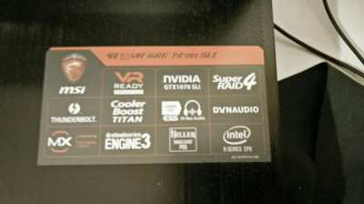 Gaming Laptop GT 83 VR 6RE Tital SLI