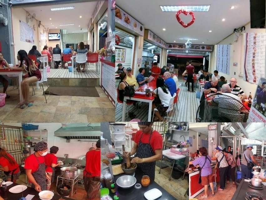 Restaurant  and guest house  in Soi buakhao main road  area