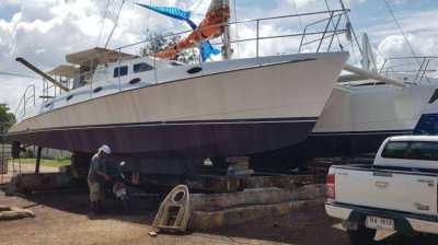 BIG BOAT for SMALL PRICE  Royal Cape 50 Catamaran