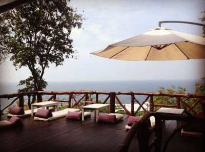 Nice sea view resort for sale in Kho Phangan