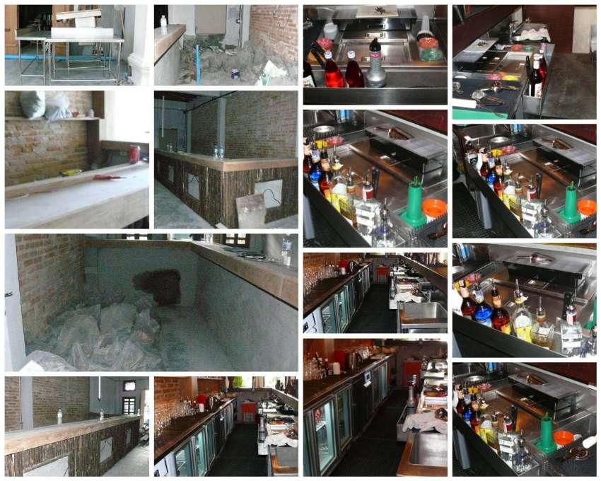Bar equipment installation service