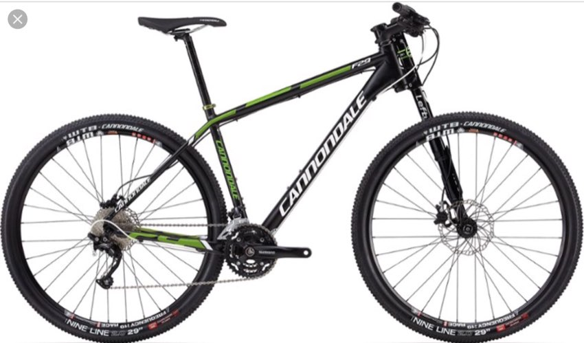 Cannondale Aluminium Mountain Bike