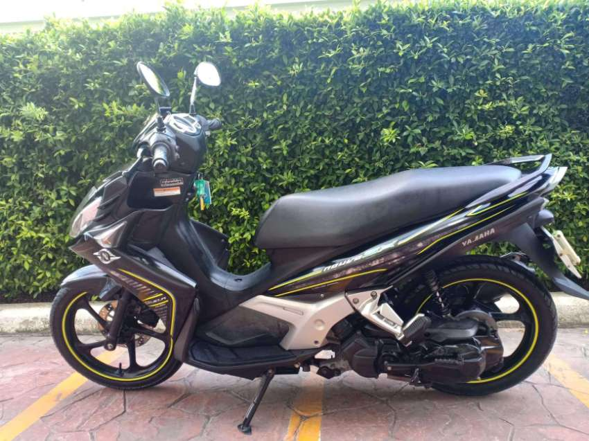 Yamaha nouvo 125 sx 2012 greenbook 14800km beautiful bike