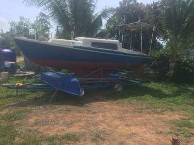 zu Verkaufen/  For Sale / small Sailboot /