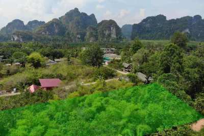 2 Rai of Land for Sale in Ao Nang, now underpriced