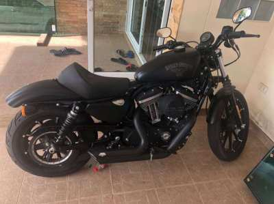 Harley Davidson Iron 833 Vivid black (Upgraded to 1200 CC)