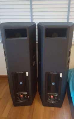 JBL PRX 625 speakers