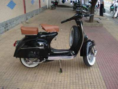 Classic fully restored Lambretta and Vespa scooters for sale