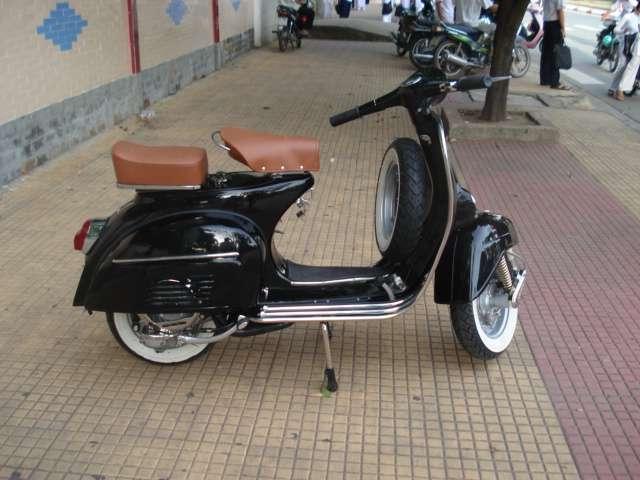 Classic fully restored Lambretta and Vespa scooters for sale