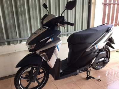 For sale Yamaha gt-125 low km, dec.2017, only 37500 baht .