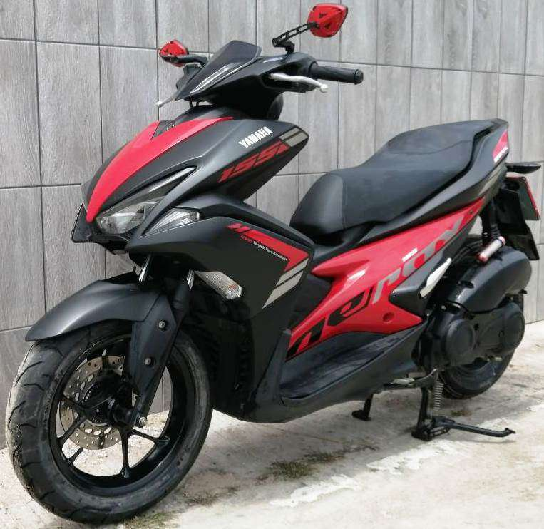 06/2018 Yamaha Aerox 155 52.900 ฿ Finance by shop