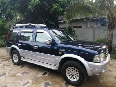 Ford Everest 2004 - Limited edition - 2,5L - Diesel