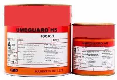 Swimming pool epoxy paint