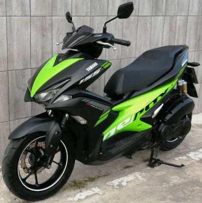 02/2018 Yamaha Aerox 155 5.xxx km 52.900 ฿ Finance by shop