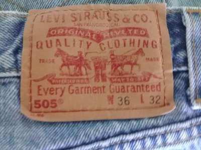 Levi 505 jeans- SEVEN pair