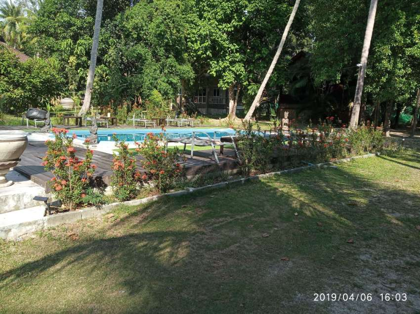 LUXURY VILLA RESORT (KOH PHANGAN , 7 HOUSE, SWIMMING POOL,BAR/RESTAUR)