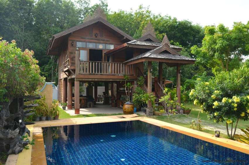 Amazing teak villa with private pool! Now only 3,795,000 THB