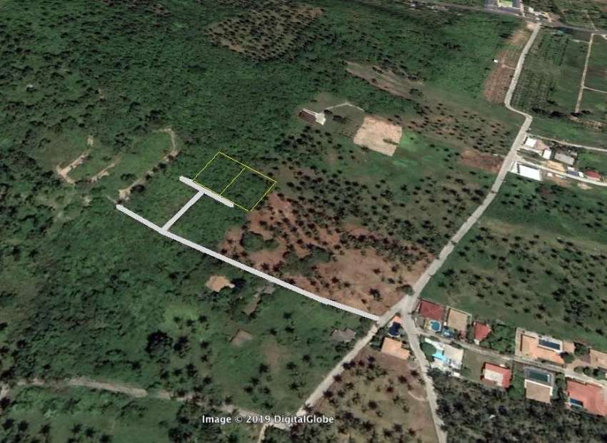 Sea/Mountain view land 900m2 - 1m Baht