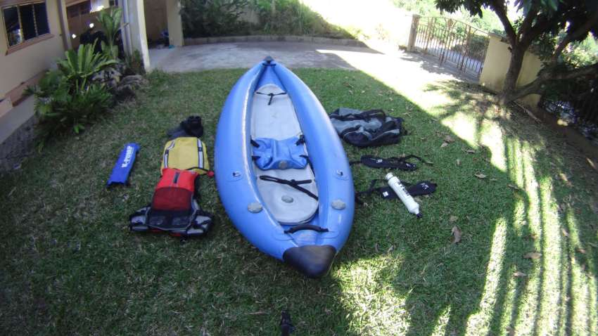 Inflatable whitewater kayak for sale