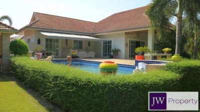 Must-Sell firesale 3 bedroom pool villa on private corner plot 736sqm