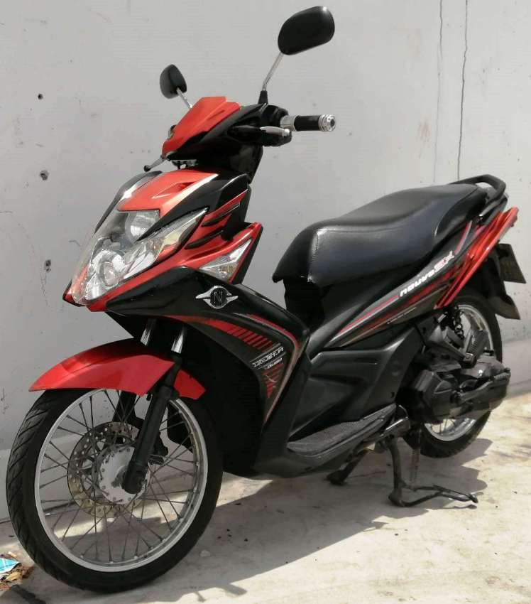 Yamaha Nouvo MX Rent start 1.488 ฿/M (6 Month contract paid in 1 time)