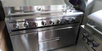 New gas stainless Steel BBQ
