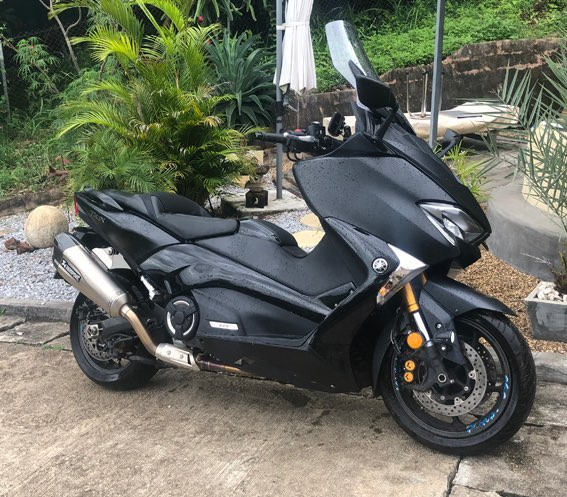 Top Model Yamaha Tmax 530cc 2018