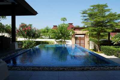 Luxury Furnished 3 BR 3 Bath Bali Style Pool Villa Near Beach