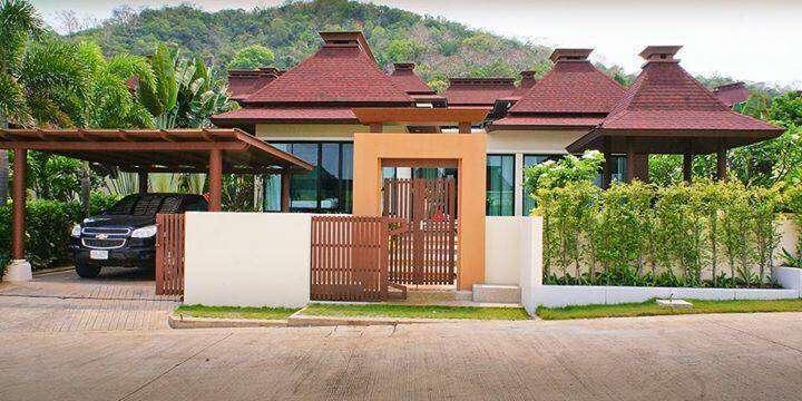 Luxury Furnished 3 BR 3 Bath Bali Style Pool Villa Near Beach