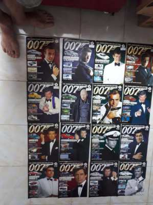 35 james bond movie car collection  1: 43 plus 2 special editions