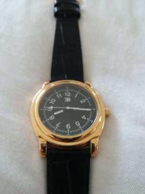 Gold watch Bugatti