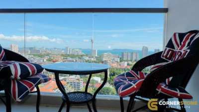 #1178  Sea Views 1Bedroom Condo For Rent At Pratumnak Hill @The Peak