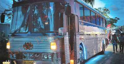 0125002 One of a Kind Special Tour Bus for Sale Bangkok