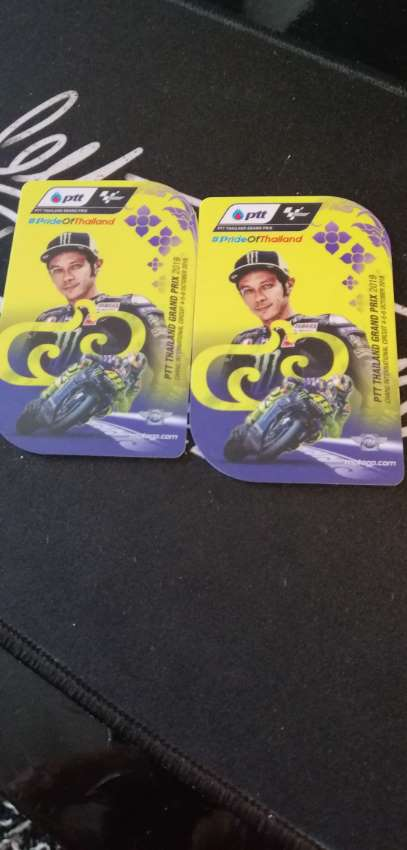 Thai Motogp 2019...4 nights in hotel and 2 tickets in Rossi stand