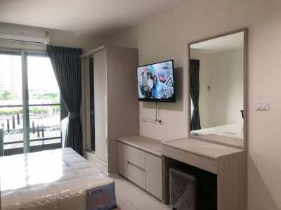 Condo For rent Near Airport link Hua-mark