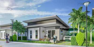 Brand new cheap house for sale in Thailand