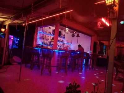 Huge bar for sale on Soi Reggae with accommodation as well. Rent Paid