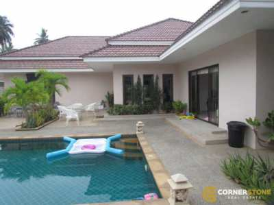 #HS1183 A Beautiful House Private Pool 3Bedroom For Sale @Huay Yai