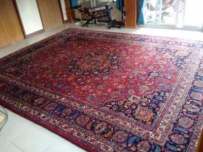 Mashad Persian Signed Rug 390cm x 292cm