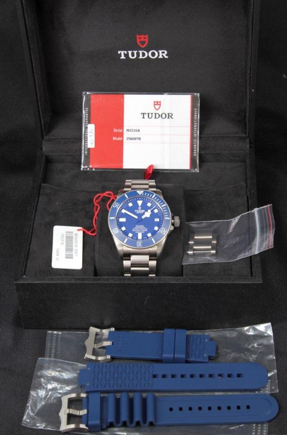 Tudor Pelagos Blue Titanium 25600TB