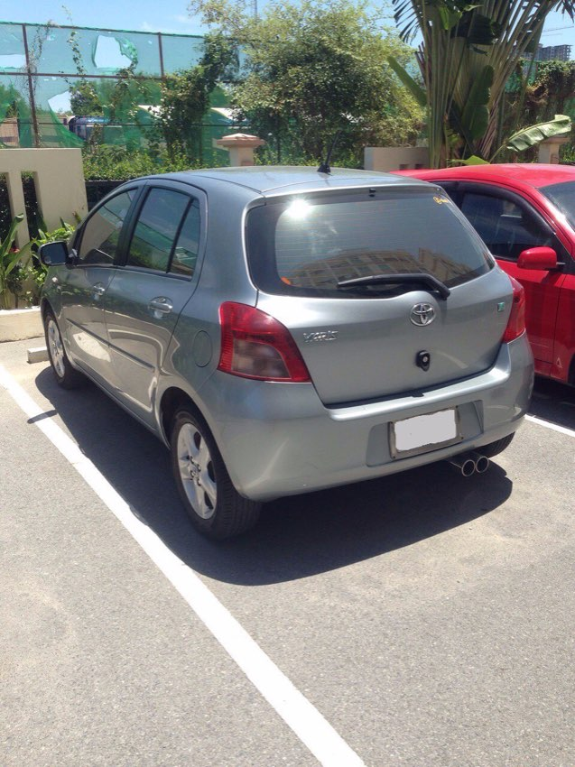 Toyota Yaris For Rent 299 THB/day